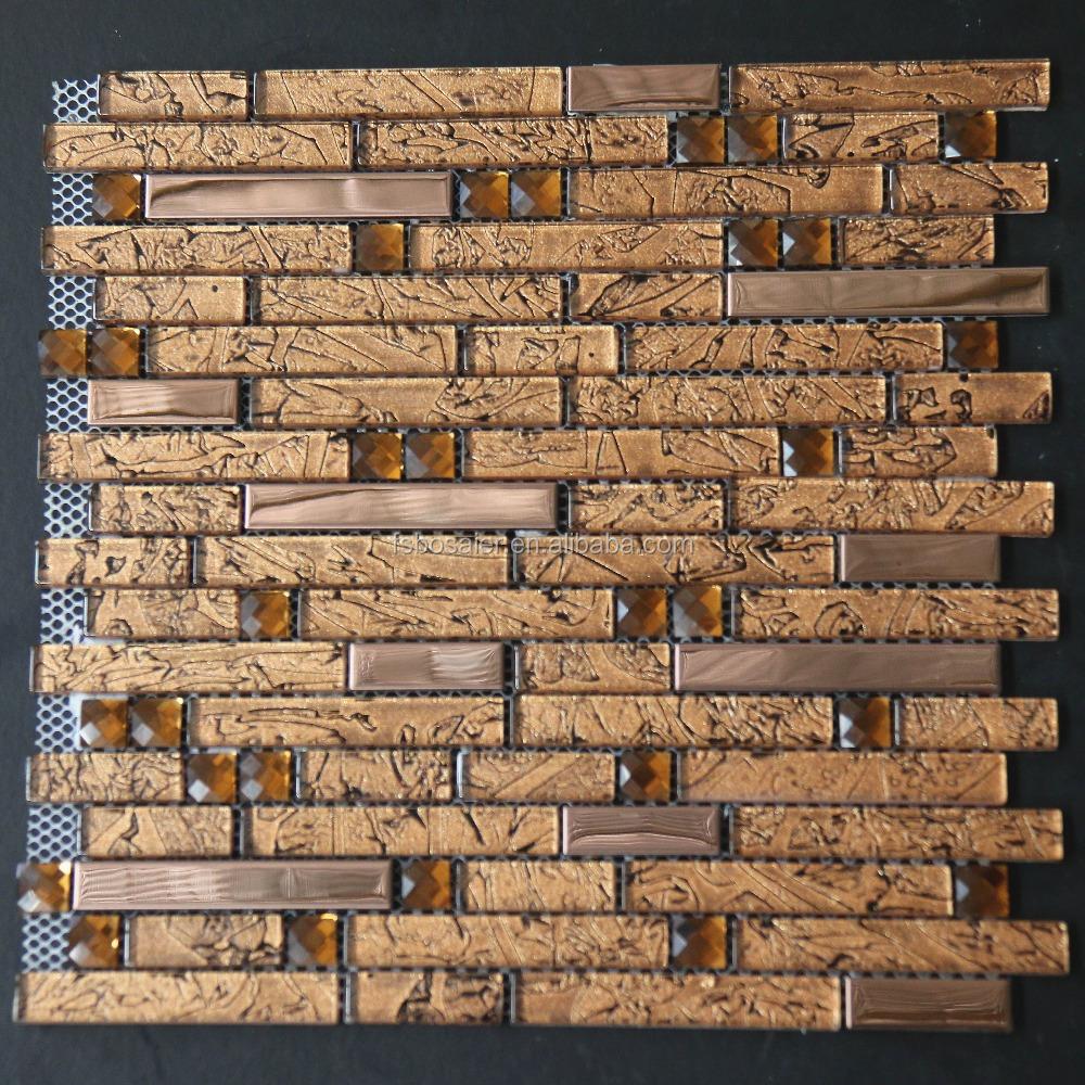 Venta al por mayor azulejos de mosaico de espejos patrones-Compre ...