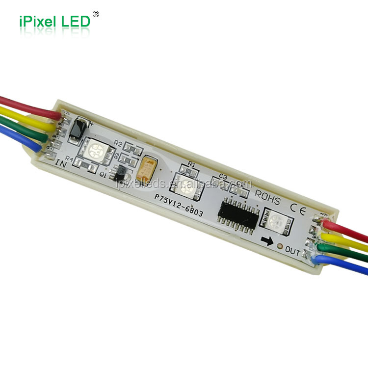 3leds/pcs 5050 ws2801 12v moduli led