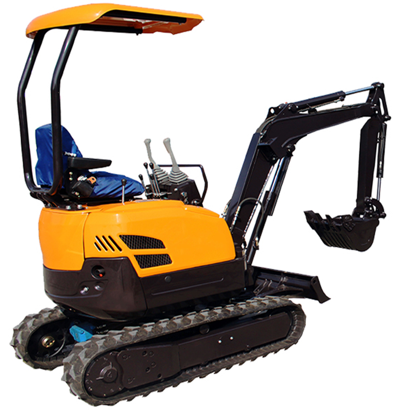 Mini hydraulic crawler 1.6ton excavator for sale