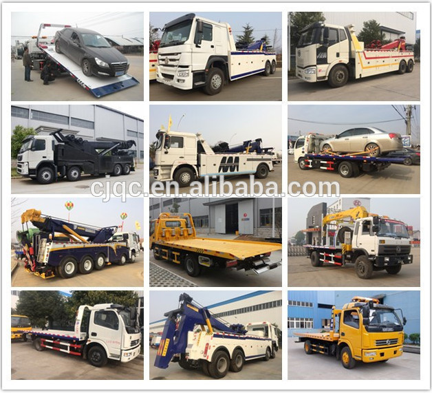 JAC mini wrecker truck for price light type wrecker truck made in China