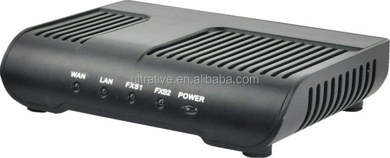 2 FXS Ports VoIP ATA with router