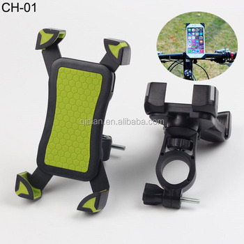 360 Rotating Universal Bike Mount Silicone Mobile Phone Holder For