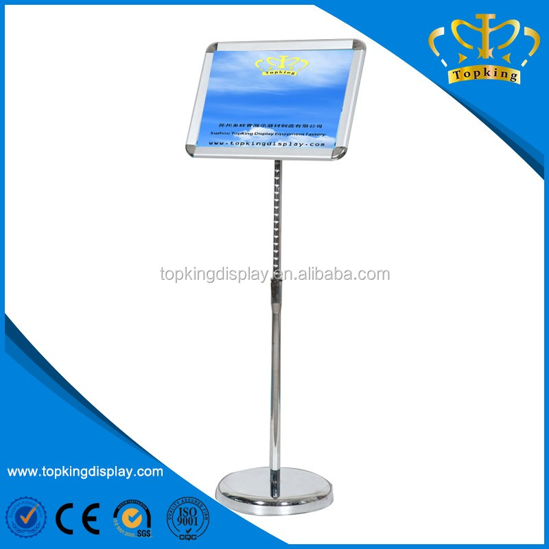 A3 A4 outdoor advertising poster stand for sale
