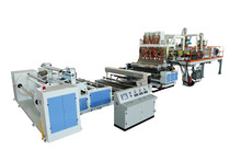 PE PP EVA Cast Film Extrusion Line