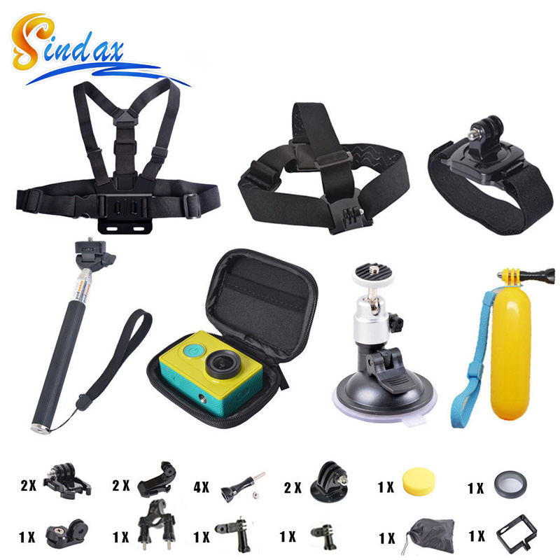 Professional Accessories For Xiaomi Yi Xiaoyi Monopod Camera Case Lens Cover