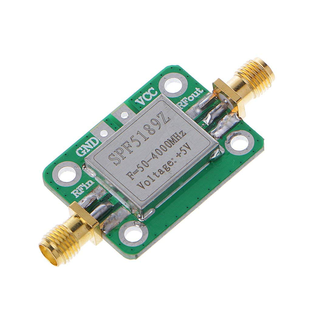 Goodqueen LNA 50-4000MHz SPF5189 RF Amplifier Signal Receiver For FM HF VHF/UHF