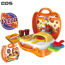 2018 new arrivals kitchen play role cooking pizza kitchen toys
