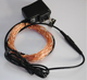 10m 100L 33ft invisible micro waterproof led copper wire string lights warm white with adapter