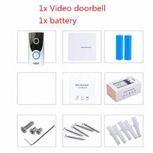 Беспроводной дверной звонок UCYBO, Wi-Fi, 1080P, HD, видеодомофон, домашняя камера безопасности, ip, инфракрасный pir сигнал, видеодомофон(Китай)