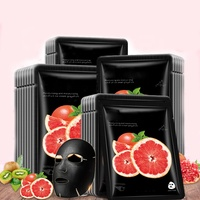 Rejuvenating oil-control grapefruit fruit face mask natural organic
