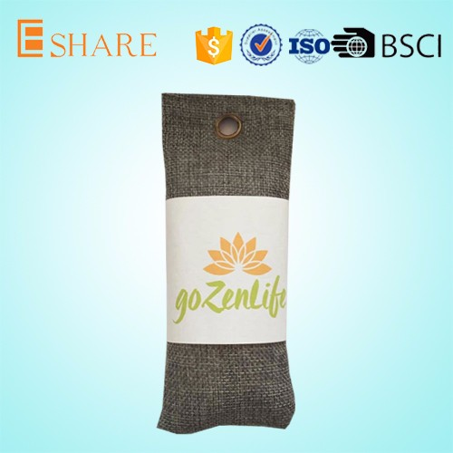 Naturally mini moso air purifying absorber bamboo charcoal bags shoe deodorizer