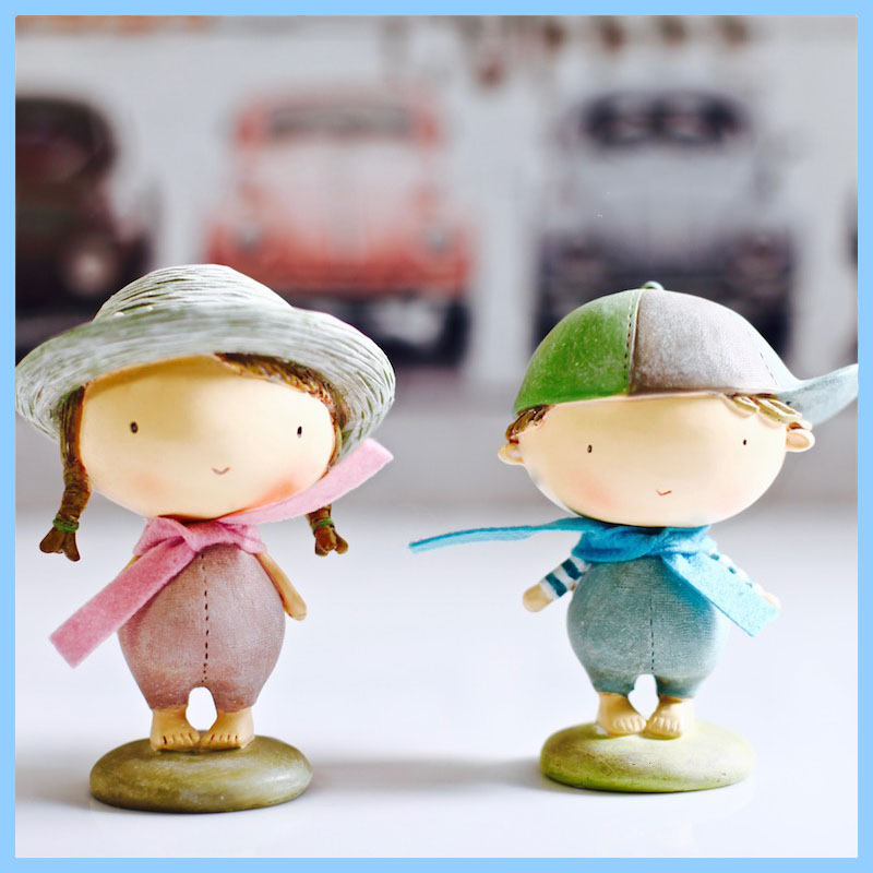 Hot selling Chinese Style Anime/Cartoon Mini/Small Girls figure