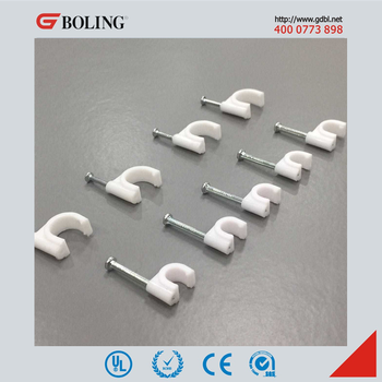 Metal Nail Clips,Wiring Nail Clips,Plastic Cable Clips - Buy Wall Cable on