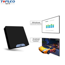 Di alta qualità intelligente sistema duale X5 MINI tv box PC Intel Atom <span class=keywords><strong>linux</strong></span> x5-Z8350 android 5.1 Quad-core 64bit mini pc