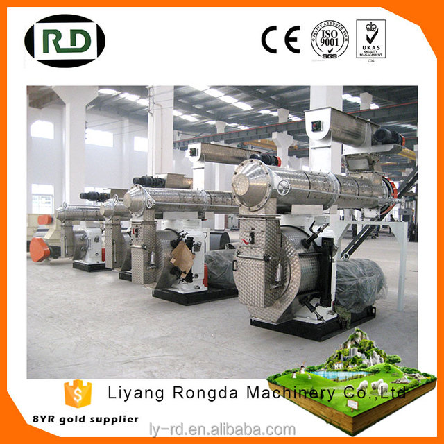 Hot sale! CE approved factory low price poultry feed pellet mill machinery poultry equipment /farm machinery