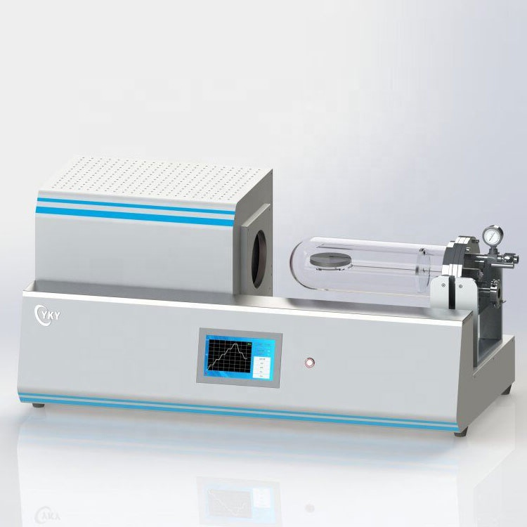 Desktop RTP rapid annealing furnace for annealing semiconductor wafers