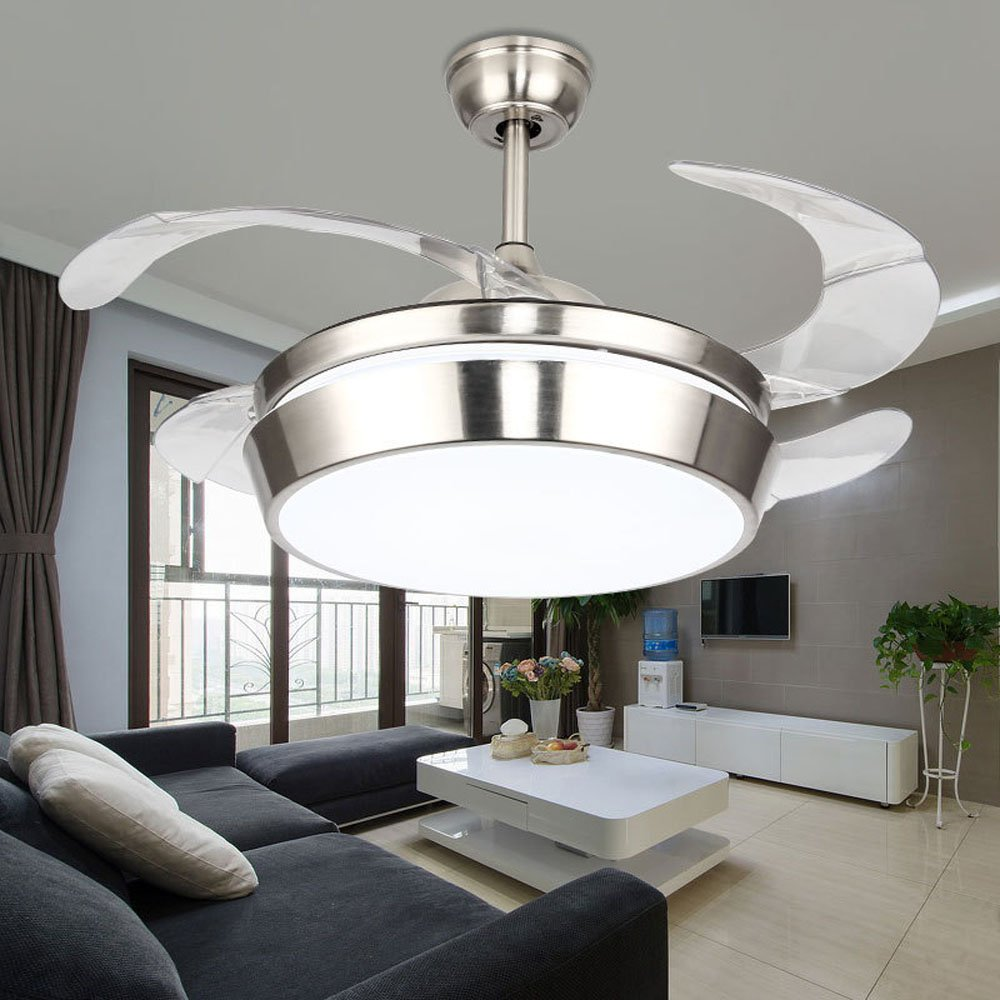 Cheap Ceiling Fan Manufacturer Find Deals Electric Without Blade Manufacturers Get Quotations Huston 42 Inch Silver Light Modern With Remote Led
