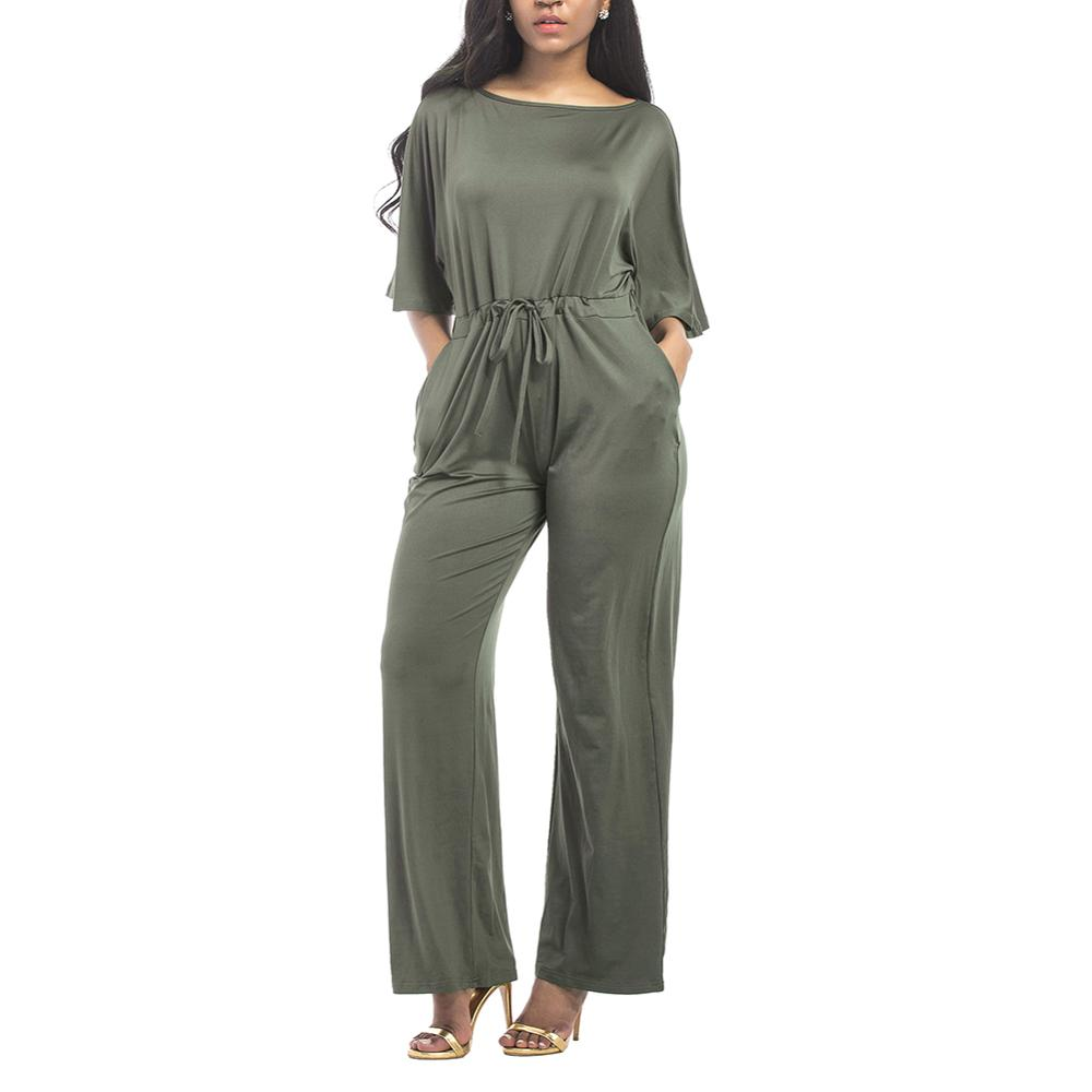 Kurzarm Party Wear Plus Size Womens Sexy Bodycon Sexy Overall