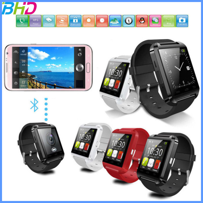 factory price wholesale cheap wifi U8 Bluetooth Smart Watch Phone For Android&IOS Wrist watch