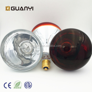 CE approved Infrared Heat halogen lamp for animal husbandry & bathroom heat
