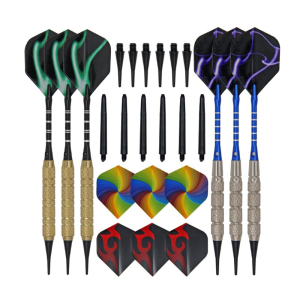 18g Professional Steel Tip Soft Tip darts Brass Dart with case dart