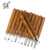 12 PCS Well Shaped SK2 Blade Carving Tool with Reusable Pouch