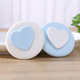 New arrival 2 in 1 cute beauty sponge foundation air cushion puff cosmetic powder puff