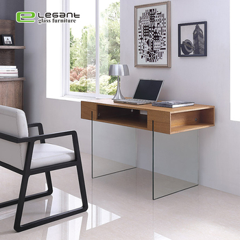Modern Glass Office Furniture Table Desk With Glass Top - Buy Modern Office  Table,Office Table Desk,Office Furniture Table Product on Alibaba.com