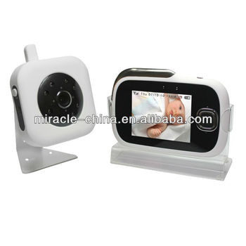 2 4 ghz wireless baby monitor baby video monitor my 012 buy wireless digital baby. Black Bedroom Furniture Sets. Home Design Ideas
