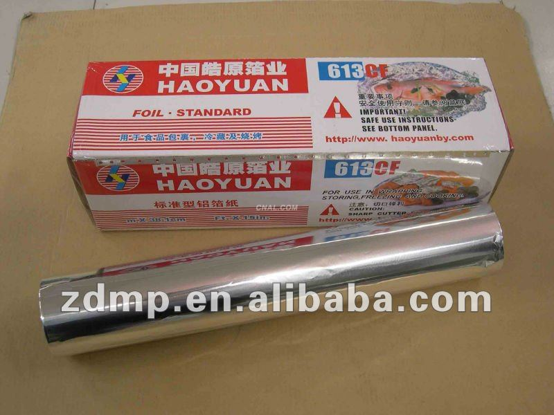 2012 the hot sales aluminum foil for kitchen