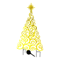 Solar Xmas Tree Stree Outdoor Party Light Christmas Decoration