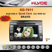 andriod 4.4 Rockchip 3188 Cortex A9 4-core car dvd player with gps navigation dashboard camera review camera for Fiat bravo