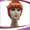 orange and yellow prices short cut two tone color hair wigs