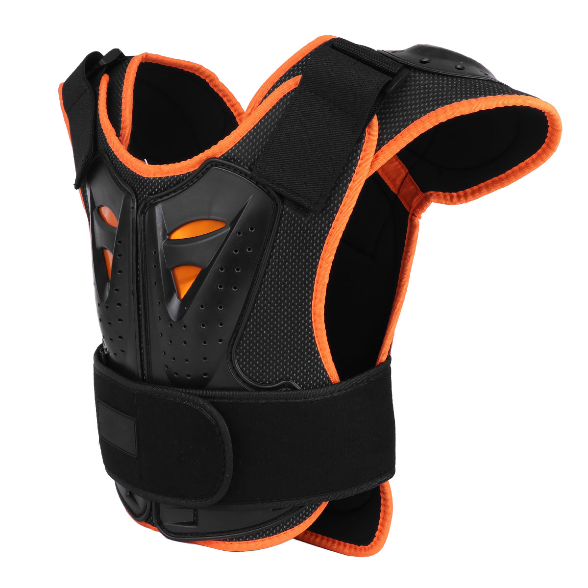 Back Support Sports Accessories Kid Child Vest Bicycle Body Chest Spine Protection Back Riding Bicycle Protector Gear Motocross Snowboarding Cycling Skiing Vest