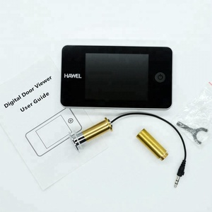 Wide angle brass material digital door viewer with reliable quality