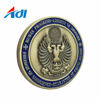 high quality custom soft enamel coin metal coins souvenir stamp coin