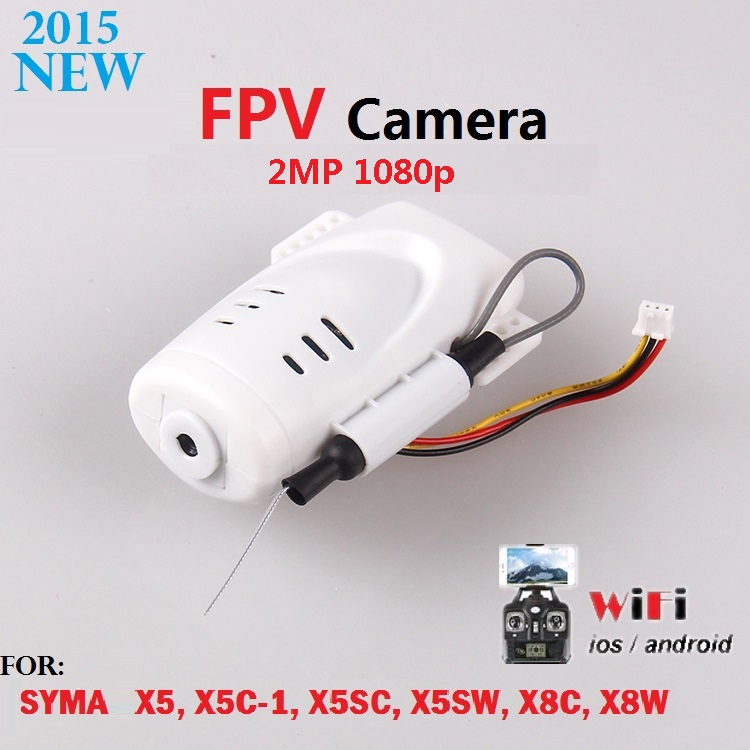 720p 2MP HD FPV WiFi Camera For SYMA X5 X5C X5C-1 X5SC X5SW RC Drone Real-time Video Transmission SYMA Quadcopter Spare Parts