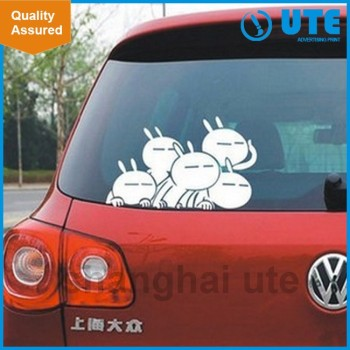 2017 advertising printing custom inside car sticker van sticker window sticker
