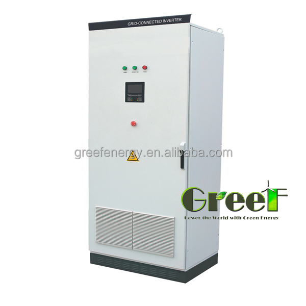 Hot Product ! conntect with Country Grid for hydro project Three Phase 400KW grid tied inverter