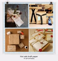 Wholesale custom design printed gift wrapping paper roll for christmas