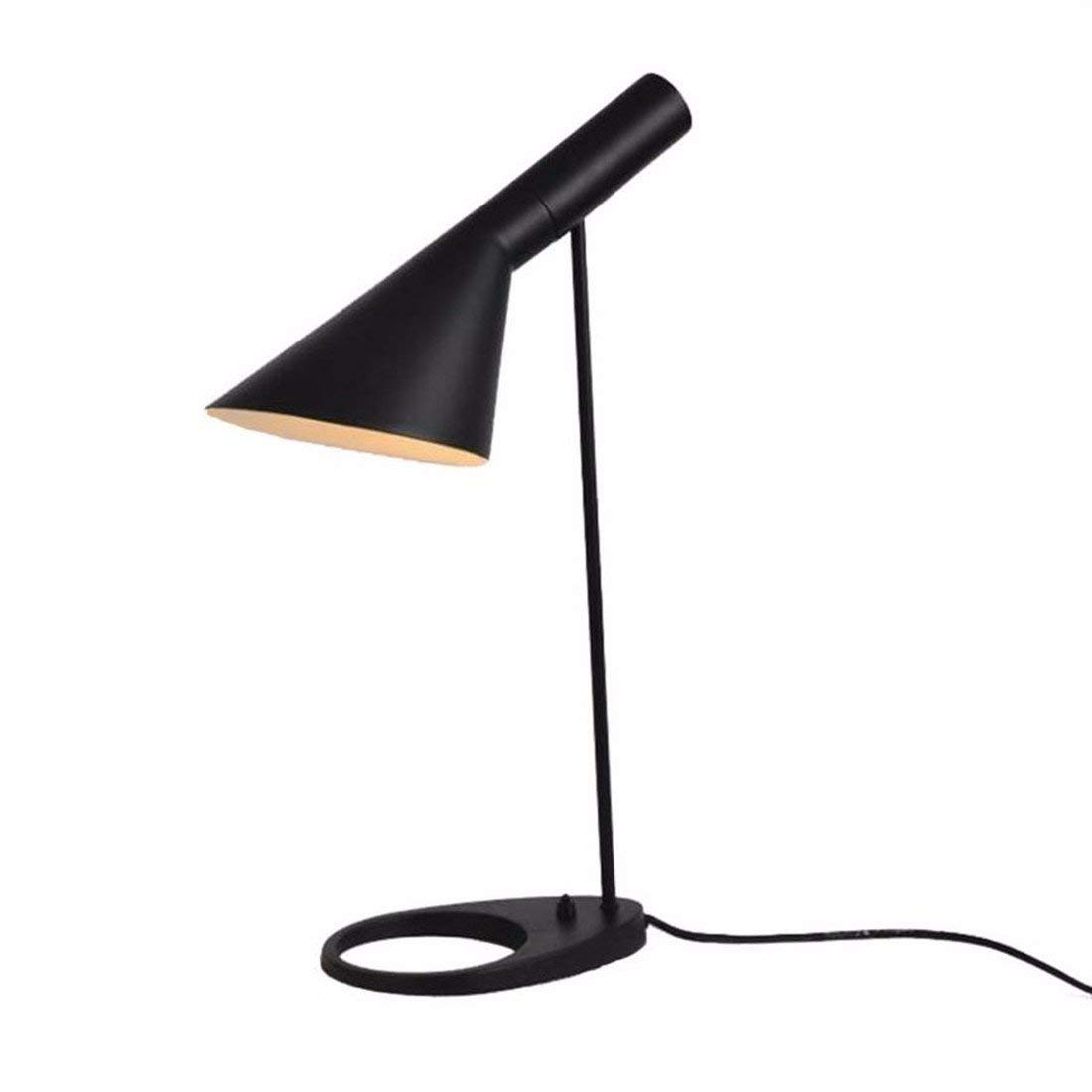 QPGGP-Table Lamp Modern Minimalist Desk Lamp Button Type Study Bedroom Bedside Led Desk Lamp Creative Desk Lamp