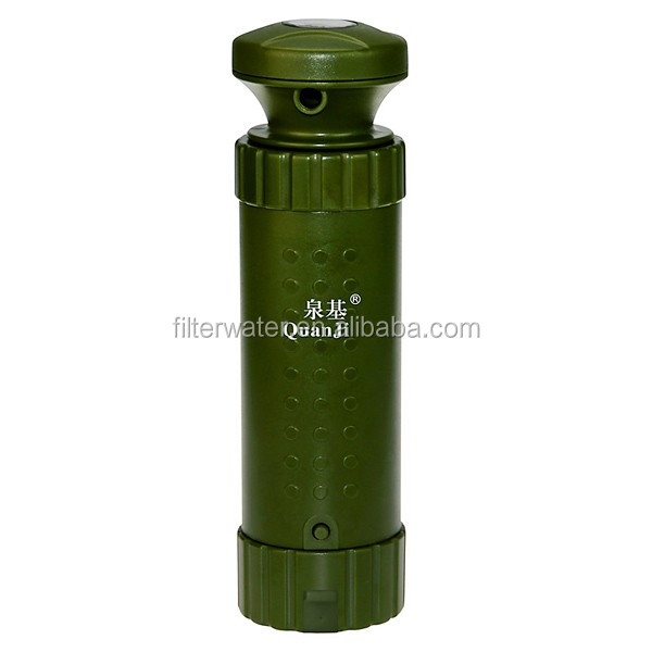 Persoanl outdoor survival water filter, emergency water filter , outdoor water filter equipment