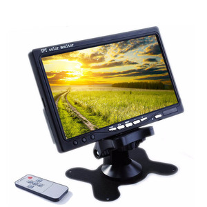 car rearview mirror monitor universal car tft monitor 7 inch rear view monitor