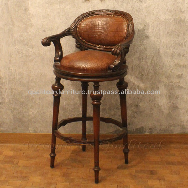 Awesome Antique Bar Stools Olivia Swivel Wooden Bar Stool Buy Antique Bar Chairs Dining Room Furniture Dining Room Chairs Product On Alibaba Com Unemploymentrelief Wooden Chair Designs For Living Room Unemploymentrelieforg