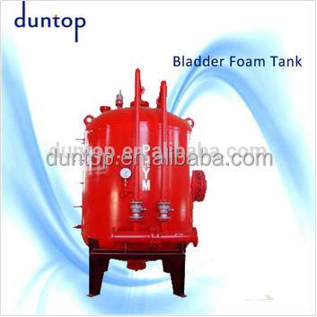 PHYM fire foam bladder tank, fire fighting vertical foam tank