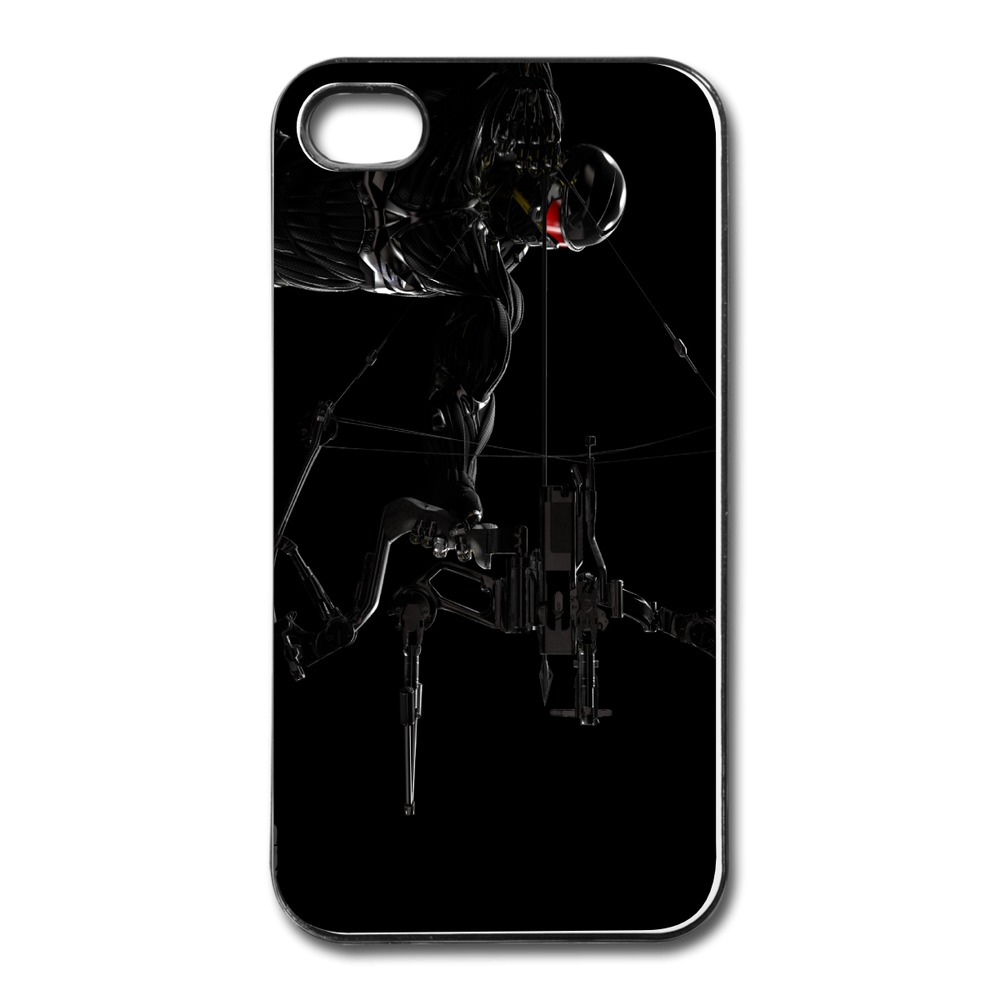 Geek Customize For Iphone Cover 4s Crysis 3 Prophet and Predator Bow Creat Own 4 4s Covers Best Sell