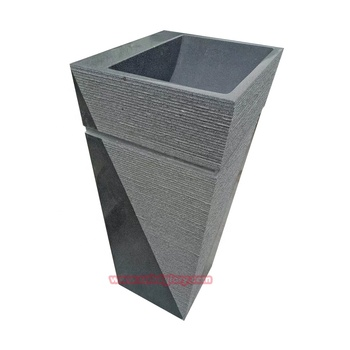 Hotel Home Bathroom Ornaments Solid Surface Stone Wash Basin
