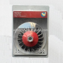industrial steel wire brush disc for cleaning large rust