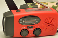Emergency Solar Hand Crank AM/FM NOAA Radio/Flashlight/Cell Phone USB Charger/1000amh battery/original manufacturer