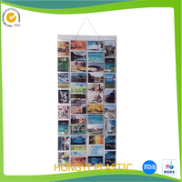 wholesale Hanging Picture Gallery Pockets fashional wallets&pockets pvc clear pockets